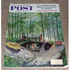 THE SATURDAY EVENING POST MAGAZINE AUGUST 23, 1958