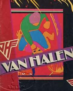 Original tour program for the VAN HALEN 1981 FAIR WARNING Tour