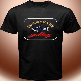 Rare New Paul & Shark Yachting Logo Black T shirt Paul And Shark
