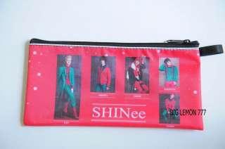 SHINEE Korean Band Zip Pen Pencil Case Bag Pouch P11