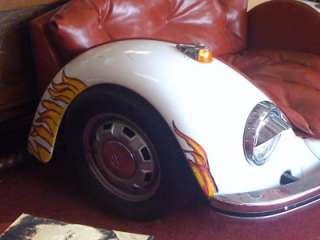 Volkswagen Beetle Car Chair Vintage Art Furniture