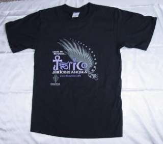 JERICO OF THE ANGELS BLACK T SHIRT SIZE XL RAVE TECHNO