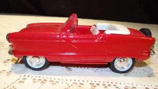 Metropolitan Convertible, Mardis Gras SOLID Red PROMO Car Hubley