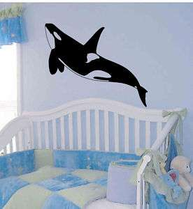 Orca Killer Whale Wall Decor Vinyl Sticker Decal 40