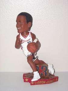LEBRON JAMES Cleveland Cavaliers Bobble Head White Drib