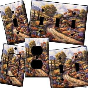 Tuscan ab Light Switch Cover wall plate