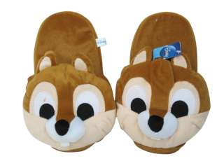 Brand New Disney CHIP n DALE Stuffed toy ~ Chip Plush Slippers