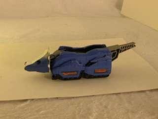 Mighty Morphin Power Ranger Deluze Blue Triceratops dinozord zord no