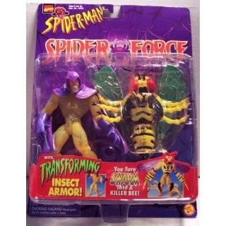 Spider Man (Toy Biz) Wasp Spider Force Action Figure Toys