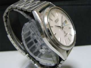 Vintage 1977 SEIKO Quartz watch [Silver Wave] 7546 8010