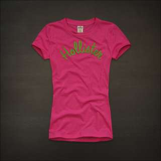2012 NEW Hollister by Abercrombie womens Scripps Park Graphic Tee T