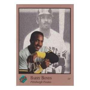 Barry Bonds 1992 Leaf Baseball Studio Portrait (San Francisco
