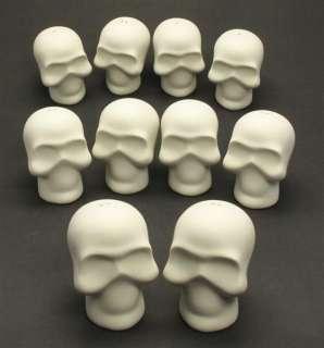 Unpainted Assorted Ceramic DIY Crafts Supply Skull Owl Love Birds