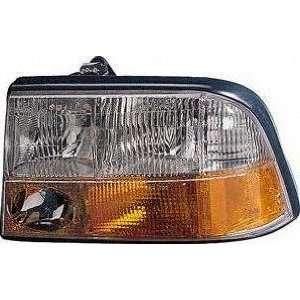 98 04 GMC SONOMA PICKUP HEADLIGHT LH (DRIVER SIDE) TRUCK