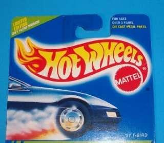 Hot Wheels 1995 Treasure Hunt 57 T Bird!! RARE + BONUS CARS!!!