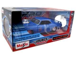 car model of 1969 Pontiac Firebird pro Street die cast car by Maisto