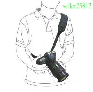 Camera Sling Black Belt Strap for SLR DSLR Camera