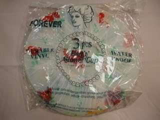 pcs Assorted Bath Durable Vinyl Shower Caps