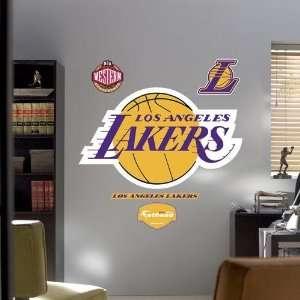 Los Angeles Lakers Team Logo Fathead Wall Sticker Sports