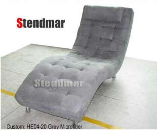 NEW MODERN O DESIGN LEATHERETTE LOUNGE CHAISE S003
