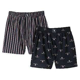 Mens Woven Boxer 2 Pack  US Polo Assn. Clothing Mens Underwear