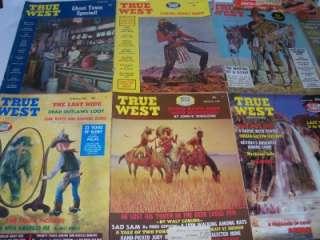 True West Magazines 1950s, 1960s, & 1970s Vintage Western Magazines