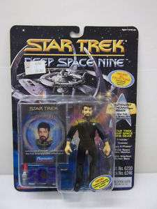 STAR TREK DEEP SPACE NINE THOMAS RIKER ACTION FIGURE