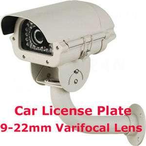 License Plate Security Surveillance CCTV Camera 9 22mm Varifocal Lens
