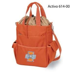 NIB Illinois Fighting Illini Waterproof Insulated Tote: