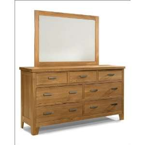 Heritage Brands Furniture Dresser & Mirror Grand Lodge