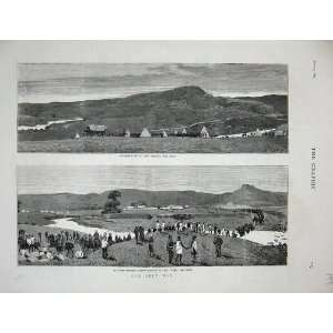 1879 Zulu War Encampment Klip River Mooi Ladysmith Art