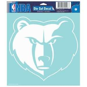 NBA Memphis Grizzlies 8 X 8 Die Cut Decal Sports