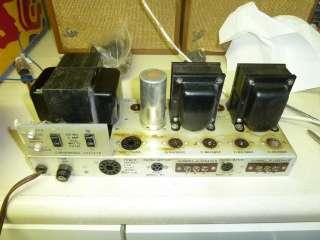 Pilot SA 232 Stereo Tube Amplifier EL84 6BQ5