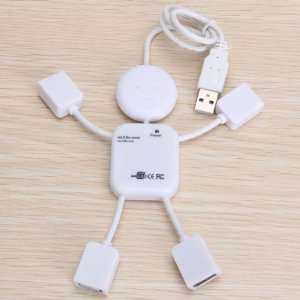 4 Port USB 2.0 HUB High Speed 480 Mbps