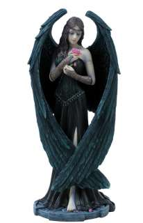 Anne Stokes ANGEL ROSE 8.5 Gothic Lady Statue Figurine Fantasy Art