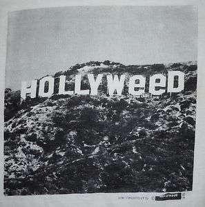 VINTAGE 1970s 1976 HOLLYWOOD SIGN PRANK HOLLYWEED WEED POT