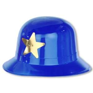 Blue Plastic Keystone Cop Hat Case Pack 192:  Home