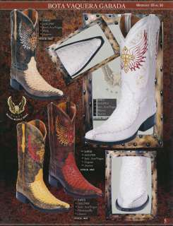 Toe Ostrich Print Mens Leather Cowboy Western Boots Diff. Colors/Sizes
