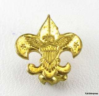 BOY SCOUTS   Vintage Tenderfoot BSA Eagle PIN Small