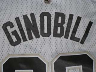 edition white jersey with brown numbers new manu ginobili san antonio