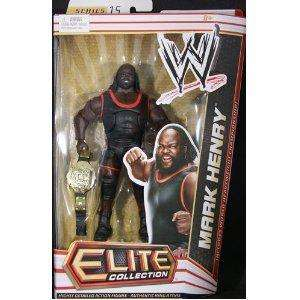 MARK HENRY WWE MATTEL ELITE SERIES 15 ACTION FIGURE TOY