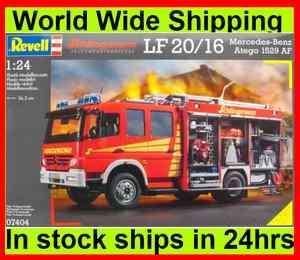 Revell 07404 Schlingmann LF 20/16 Mercedes Benz Atego 1529 AF Plastic