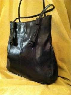 Womens Vintage Don Quixote Bag Leather Handbag Purse Black Shoulder