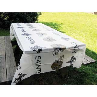 Orleans Saints Tailgating Rico New Orleans Saints 2 Pack Table Cover