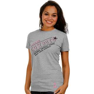 Dallas Cowboys Womens Breast Cancer Awareness T Shirt