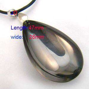 C9535 Lady Crystal Glass Teardrop bead Necklace Pendant