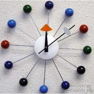 Retro Wood MOD Era Orbit Atomic Ball Clock