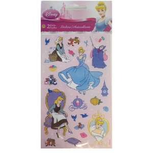 Princess Cinderella Stickers   2 Sheets Toys & Games