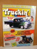 Truckin Magazine September 1985 V8 Mini Engine Swap