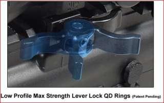 4x24 30mm CQB Circle Dot RGB Scope + QD Rings 4712274528307